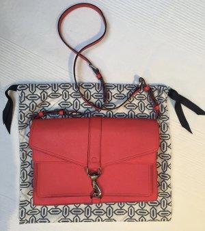 Rebecca Minkoff Shoulder Bag red-bright red leather