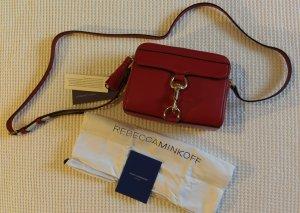 Rebecca Minkoff Borsa a spalla rosso scuro Pelle