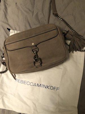Rebecca Minkoff Medium Mab Camera Bag Nubuck Grey
