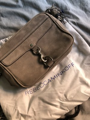 Rebecca Minkoff Medium Mab Camera Bag Nubuck Grey