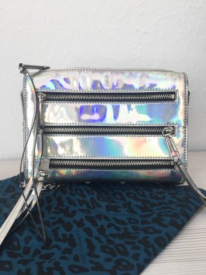 Rebecca Minkoff Mini Bag silver-colored-light grey