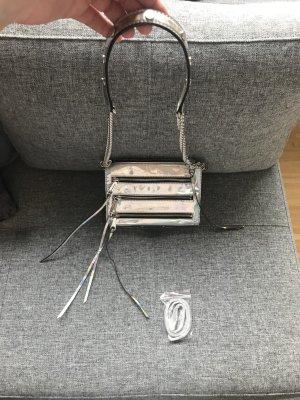 Rebecca Minkoff Mini 5 Zip Tasche Silber