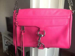 Rebecca Minkoff Mini Mac Hot pink