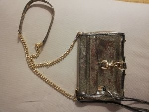 Rebecca Minkoff Mini Mac Tasche gold schwarz