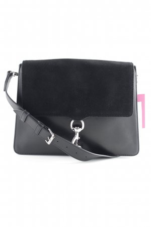 "Rebecca Minkoff Schultertasche ""Mab Large Shoulder Bag Black"" schwarz"