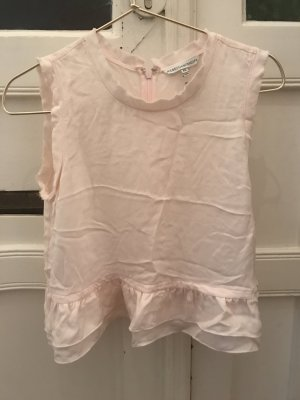 Rebecca Minkoff Seidentop Seide Rose Shirt Top