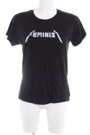 Rebecca Minkoff T-Shirt schwarz Casual-Look