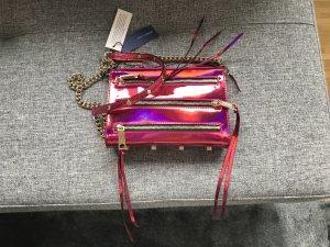 Rebecca Minkoff Tasche Mini 5 Zip Magenta
