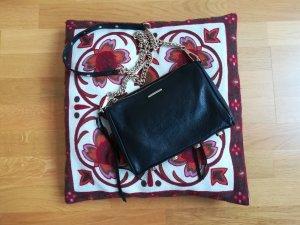 Rebecca Minkoff Tasche schwarz Leder Nieten Fransen