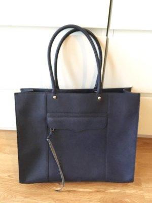 Rebecca Minkoff Tasche // XXL Shopper // marineblau // wie neu