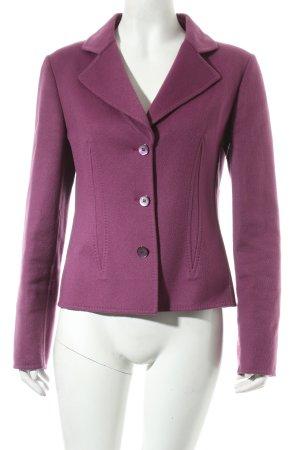 Rebecca Moses Wool Blazer violet casual look