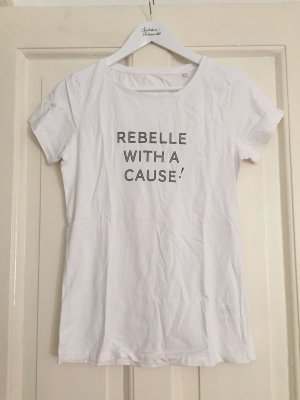 REBELLE Charity-T-Shirt Rebelle with a cause – weiss – L
