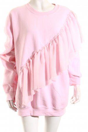 Reclaimed Vintage Sweatshirt rosa Romantik-Look