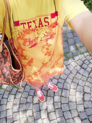 Reclaimed Vintage Twinset Kleid Shirtkleid Minikleid Spitze Lace