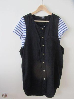 *Reclaimed Vintage*Urban Outfitters*Hemd*Kleid* Gr.40*schwarz*Denim*