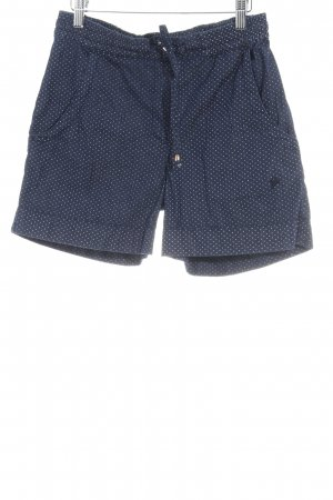 recolution Shorts dark blue-white spot pattern casual look