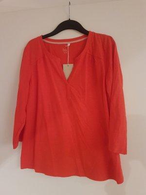 Red 3/4 Sleeve Tunic
