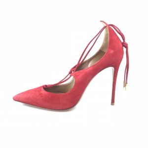 Aquazzura High-Heeled Sandals red