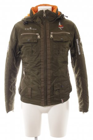 Red Bull Collection Winterjacke khaki-hellorange Casual-Look