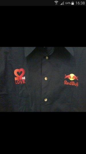 Red Bull Damenbluse Gr.XL Dunkelblau