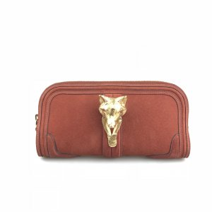 Red Burberry Clutch