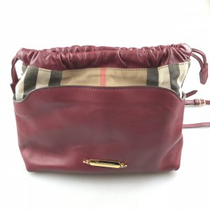 Red Burberry Cross Body Bag