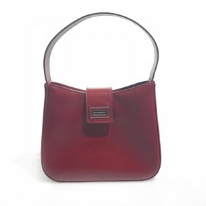 Red Burberry Shoulder Bag