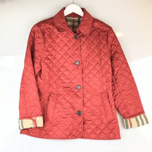Red Burberry Trench Coat