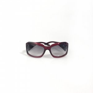 Red Bvlgari Sunglasses
