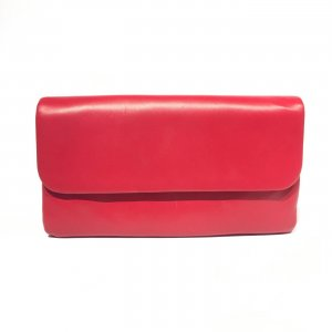 Red Casadei Clutch