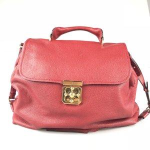 Red Chloe Shoulder Bag