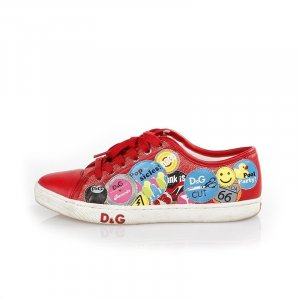 Red Dolce & Gabbana Sneaker