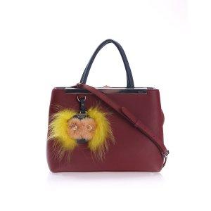 Red Fendi Shoulder Bag