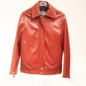 Red Ferre Leather Jacket
