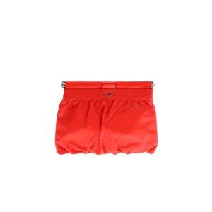 Red Furla Clutch
