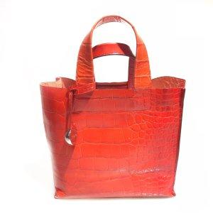 Red Furla Shoulder Bag