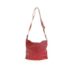 Red Furla Shoulder Bag