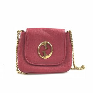 Red Gucci Cross Body Bag