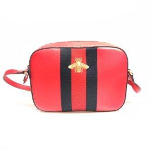 Red Gucci Cross Body Bag