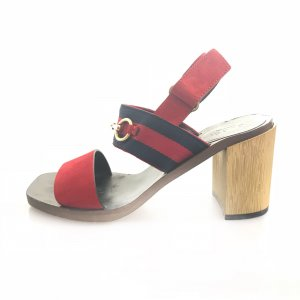 Red Gucci High Heel
