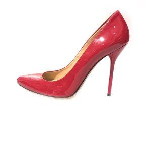 Gucci Sandalen met hoge hakken rood