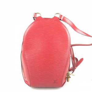 Red Louis Vuitton Backpack