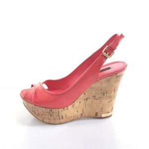 Red Louis Vuitton High Heel