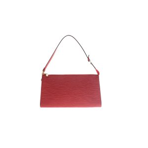 Red Louis Vuitton Shoulder Bag