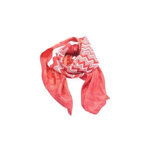 Red Missoni Scarf