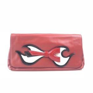 Red Prada Clutch