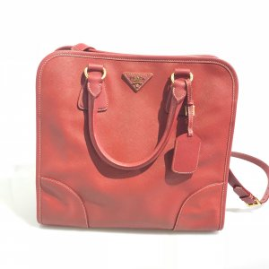 Red Prada Shoulder Bag