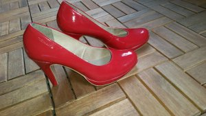 Red#Pumps#hot#lack#Leather