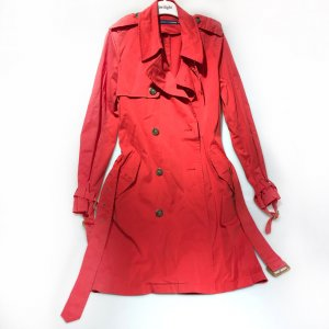 Red Ralph Lauren Trench Coat