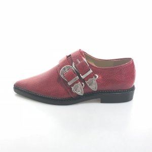 Toga Pulla Zapatos estilo Oxford rojo
